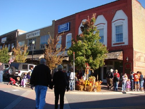 Downtown Square - Ellijay, Georgia