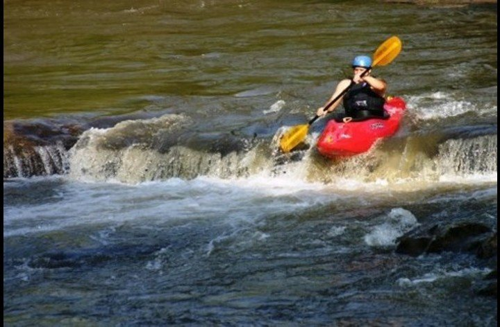 Kayaking, river rafting or tubing is just right around the corner.
