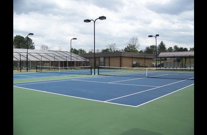 Tennis courts available for your use